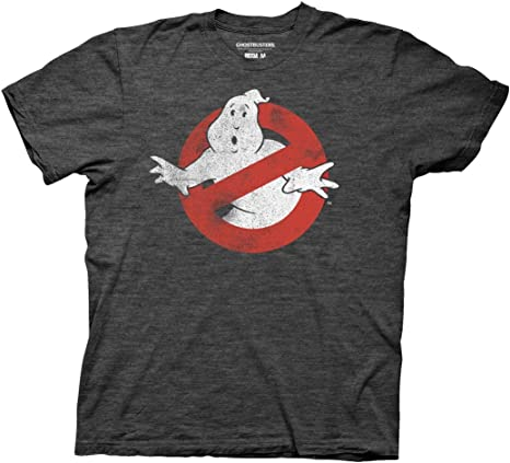 Ghostbusters Boys/' Distressed No-Ghost Sign T-Shirt