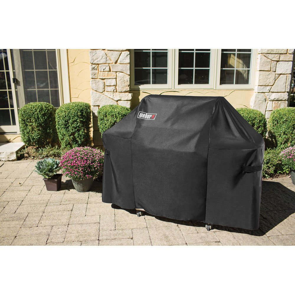 Amazon.com : Weber 7107 Grill Cover (44in X 60in) with Storage Bag ...