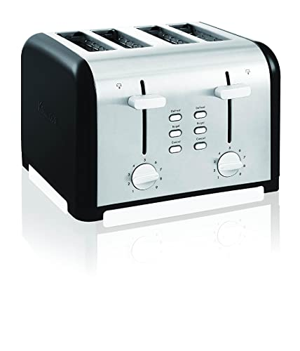 Kenmore-40603-4-Slice-Toaster-with-Dual-Controls-in-Black