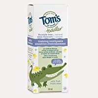 Tom's of Maine Toddler mild fruit gel fluoride free training toothpaste, 38ml, Fresh Mint