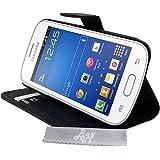Etui Housse Luxe Stand et Portefeuille Samsung Galaxy Grand Plus + STYLET et 3 FILM OFFERT!!