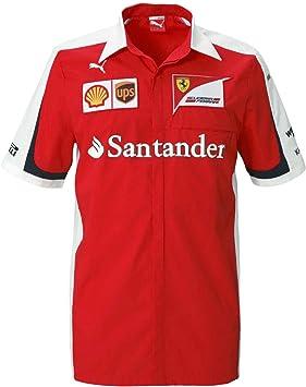 PUMA Ferrari SF Team - Camiseta de Fórmula 1, Color Rojo ...