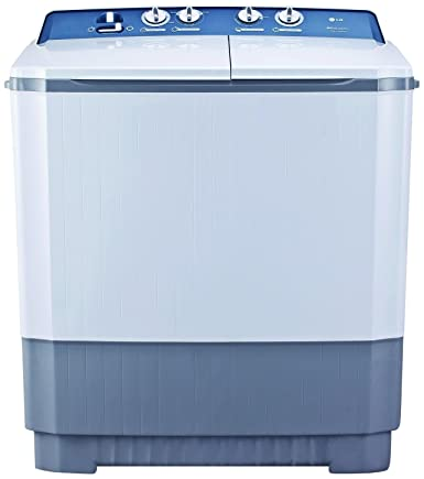 LG 8.5 kg Semi-Automatic Top Loading Washing Machine (P9563R3FA, Dark Grey)