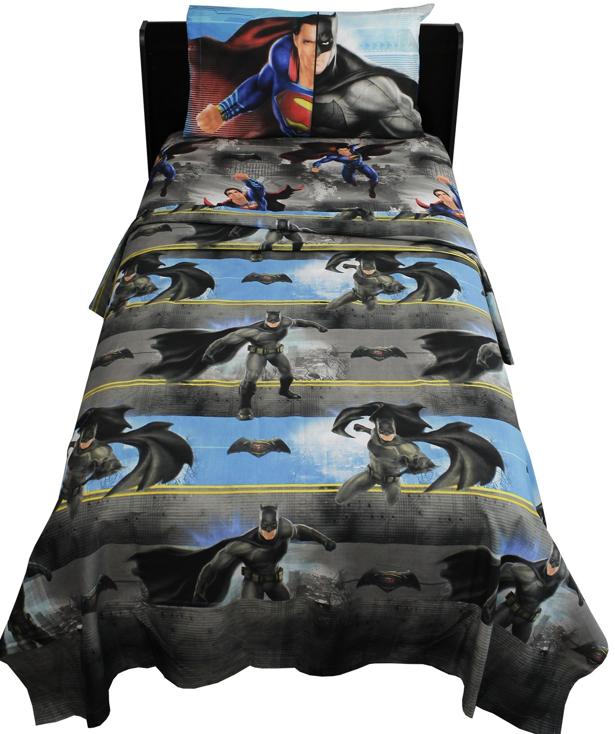 Batman Vs Superman Twin Sheet Set Franco Manufacturing Company Inc 5925606