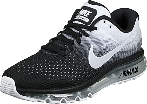 b859530cc2fe Airmax Men s Black and White Polyester Shoes (7)  Buy Online at Low Prices  in India - Amazon.in