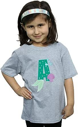 Disney Niñas Alphabet A Is For Ariel Camiseta