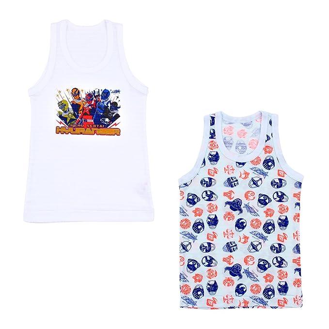 宇宙戦隊キュウレンジャー 涼感インナー ランニングシャツ 2枚組 120cm アソート