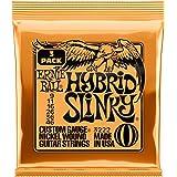 Ernie Ball P03222 Hybrid Slinky Nickel Wound Electric Guitar Strings 3 Pack, 9-46 Gauge, Medium