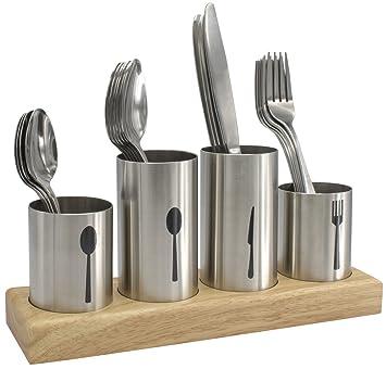 Amazon.com: Sorbus Silverware Soporte con Caddy para ...