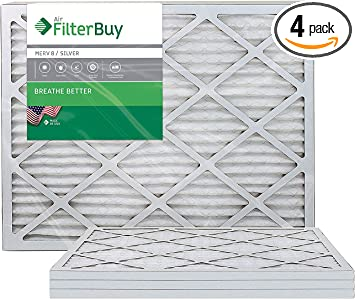 17x22x1 Furnace Filters Air Conditioner Filter Replacement Clean Vent