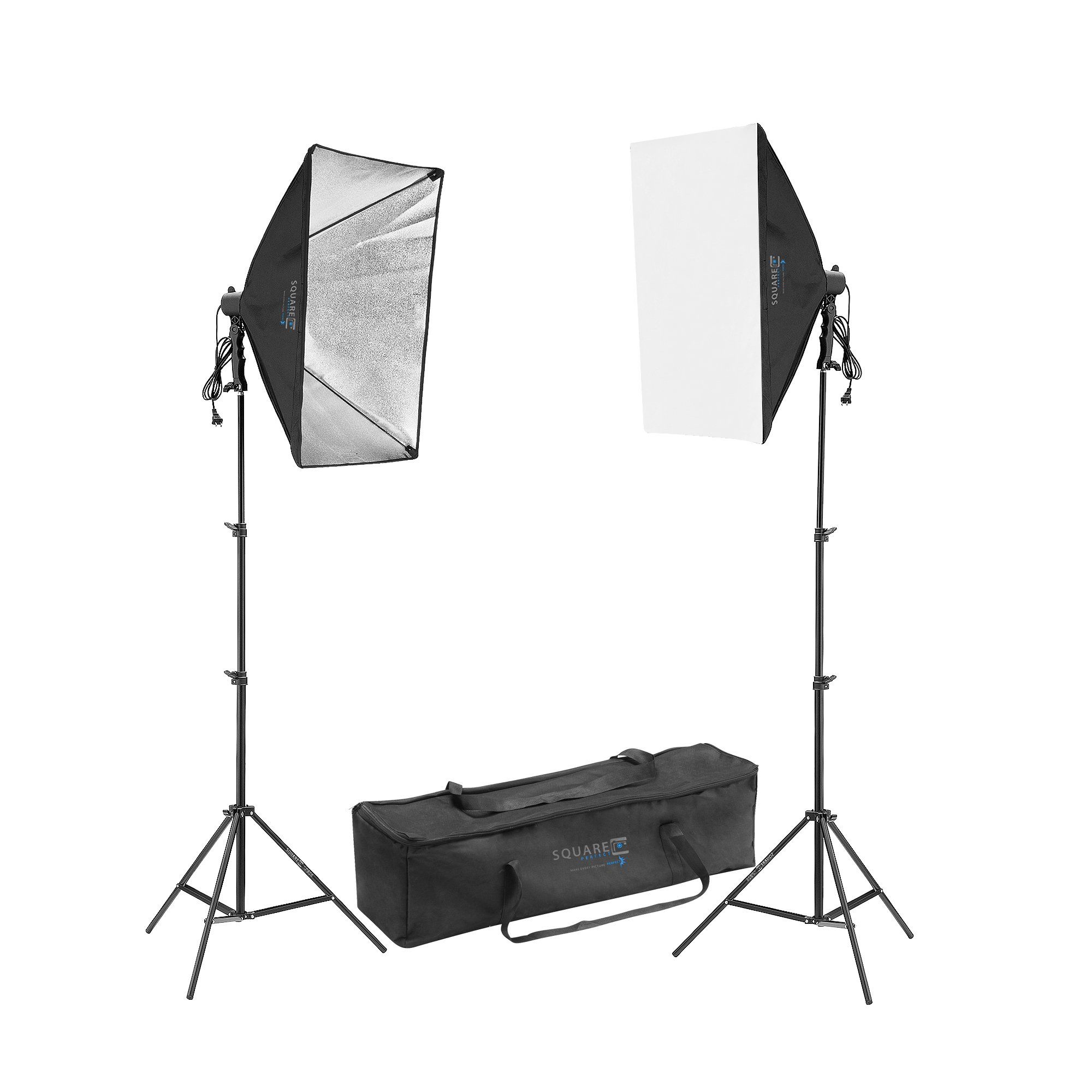 LED Photography Light Set Digital Video Continuous Light Kit 16 Watt LED by SQUARE PERFECT