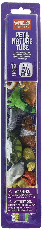 Wild Republic 21669 Aquatic Family Animal Figurines Tube Miniature Toy Figures