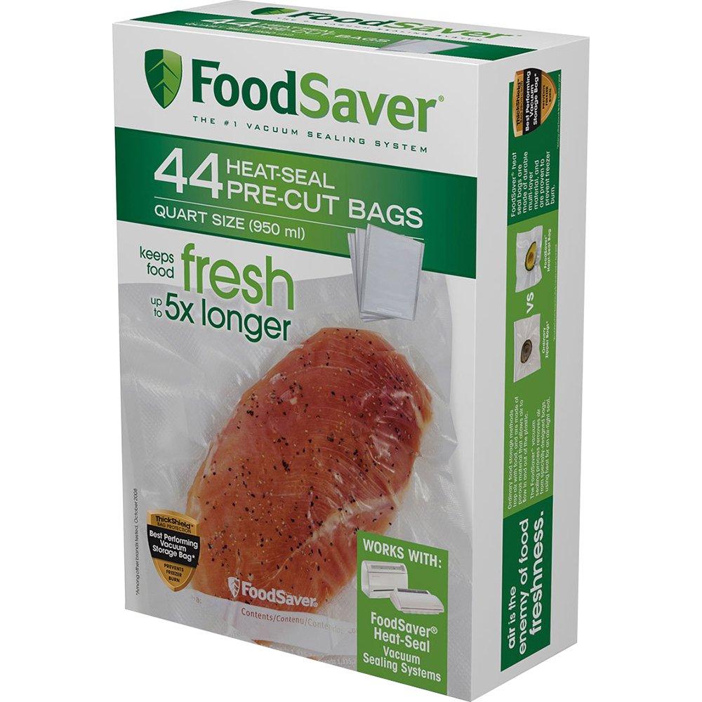 FoodSaver 44 Quart-sized Bags (1, 44 Bags)