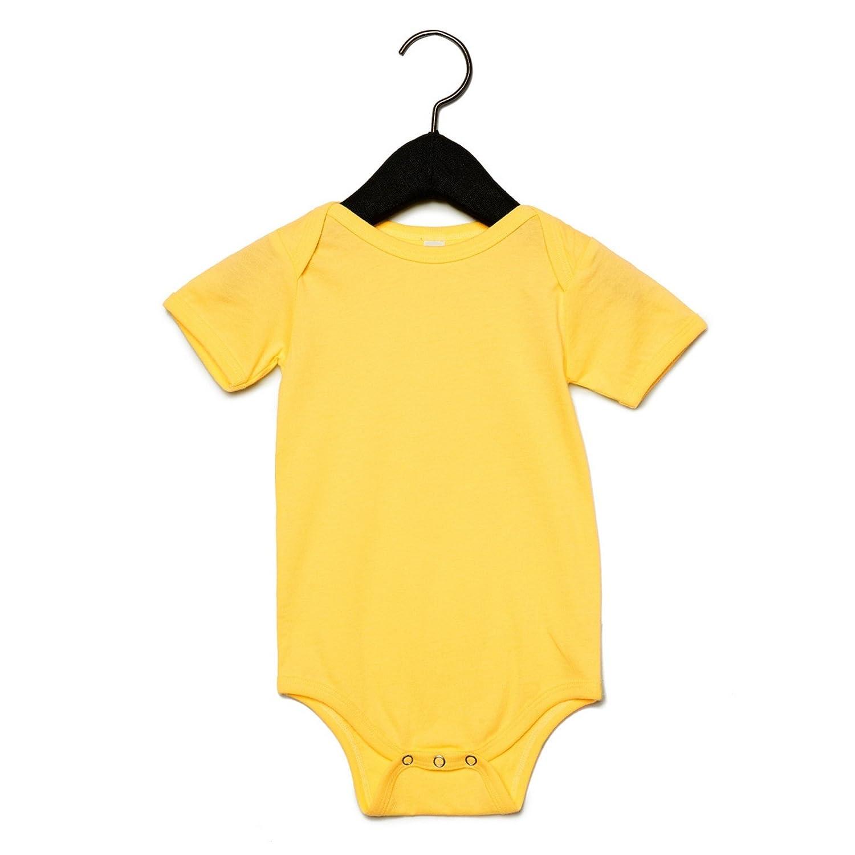 Body in jersey a maniche corte Prima Infanzia Bella Canvas