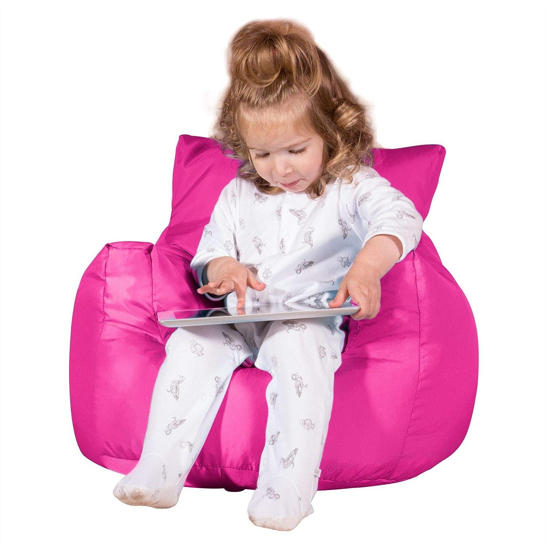 Big Bertha Original Pink Lehnstuhl Sitzsack Kinder Outdoor
