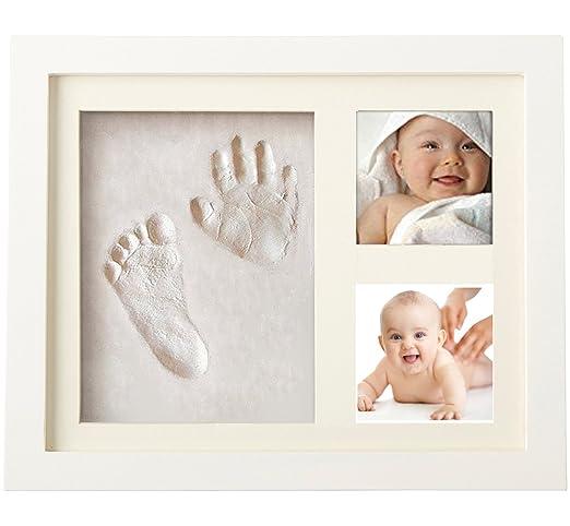 49 opinioni per Kit per Impronte Bimbi Mani e Piedi per Bambini | Portafoto con impronta