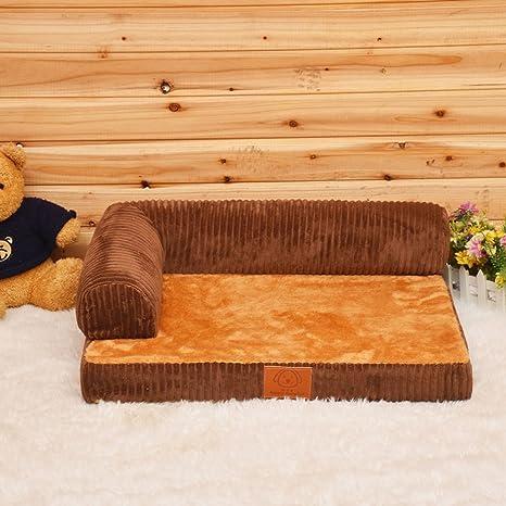 Sofá de espuma de memoria ortopédica de lujo Cama para perro de salón (Size :