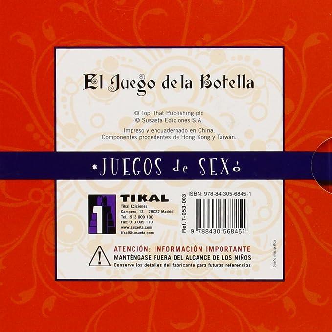 TIKAL el Juego de la botella: Aa.Vv.: Amazon.es: Salud y cuidado personal
