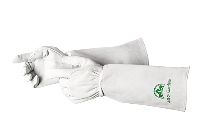 Legacy Gardens Garden Gloves Premium Goatskin Leather