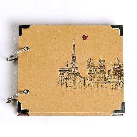 "7 ""x 6"" Photo Album DIY PhotoBook Europe Gift Ideas: Amazon.co.uk: Kitchen & Home"