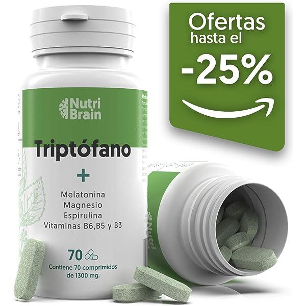 Ana Maria Lajusticia - Triptofano con melatonina + magnesio ...
