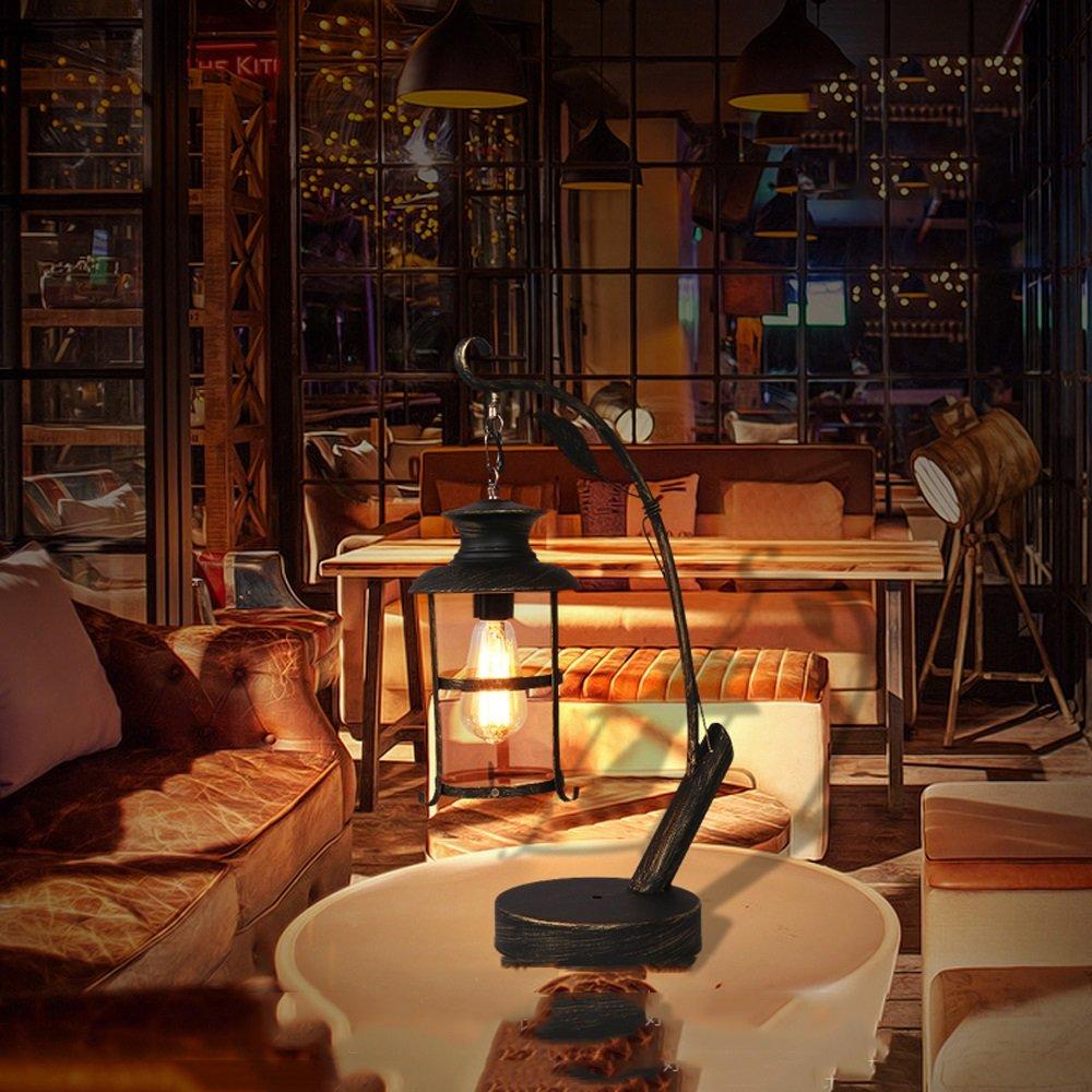 MLMH American American American Country Retro industrielle Art kreative Kunst Bar Eisen Tischlampe Tischlampe (größe   B-11  39cm) B07H1614Y7 | Online Outlet Store  052480