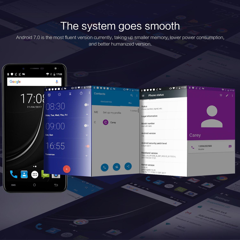 Cubot HAFURY MIX Android 7 0 Nougat Smartphone ohne Amazon