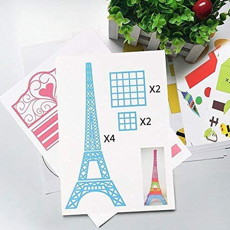 3D Stifte Matte,3D stift Vorlage,DOLYUU 3D Druckstift Vorlage,3D pen Vorlage,3D Zeichenschablonen f/ür Anf/änger,Kinder und 3D-Stiftk/ünstler,mit 2 Finger Stall