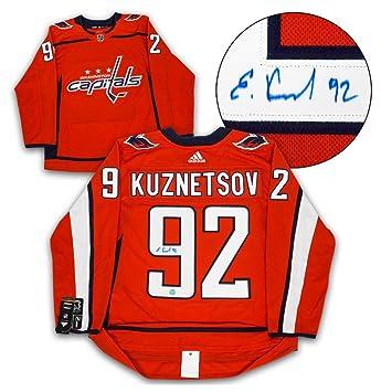 Evgeny Kuznetsov Washington Capitals Autographed Signature Adidas Authentic  Hockey Jersey 2915f66e8