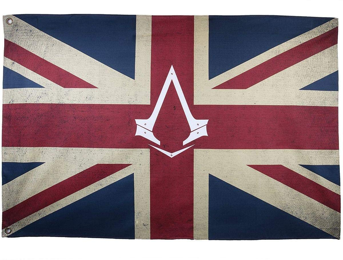Amazon Com Assassin S Creed Syndicate Flag British Flag Union Jack Video Games
