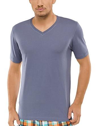 Schiesser Herren Schlafanzugoberteil Shirt Kurzarm: Amazon.de: Bekleidung