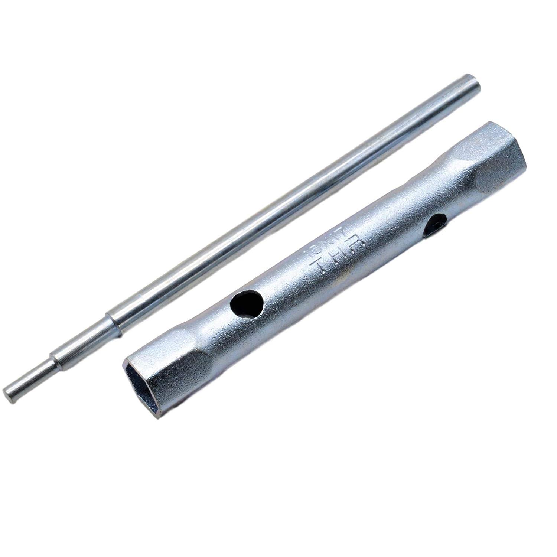 Rohrsteckschl/üsselsatz 10-tlg 6-27mm in Rolltasche