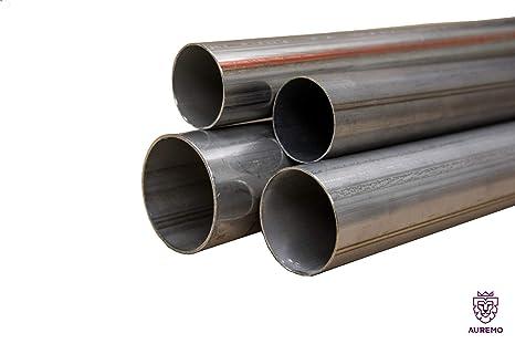 Tubo de acero inoxidable barandilla 25 x 4 - 106 x 1,2 mm V2 ...