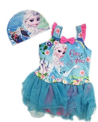 ed1f3d58296ba Disney(ディズニー)アナと雪の女王エルサ アナ雪 キッズ用水着・