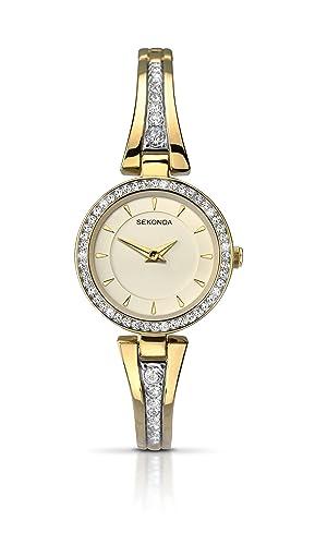Sekonda Damen-Armbanduhr Analog Quarz 2153.27