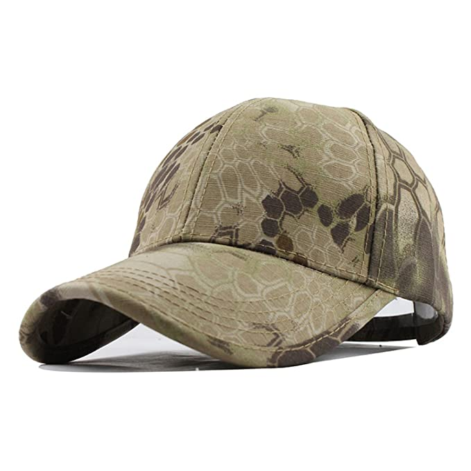 Amazon.com  Men s Snapback Camouflage Tactical Hat Baseball Cap Head  Camouflage Caps Sun Hat Hats for Men and Women  Clothing fdd90babafe