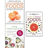 medical medium life-changing foods, hidden healing powers of super & whole foods and healthy medic food for life 3 books collection set - save yourself and the ones you love with the hidden healing