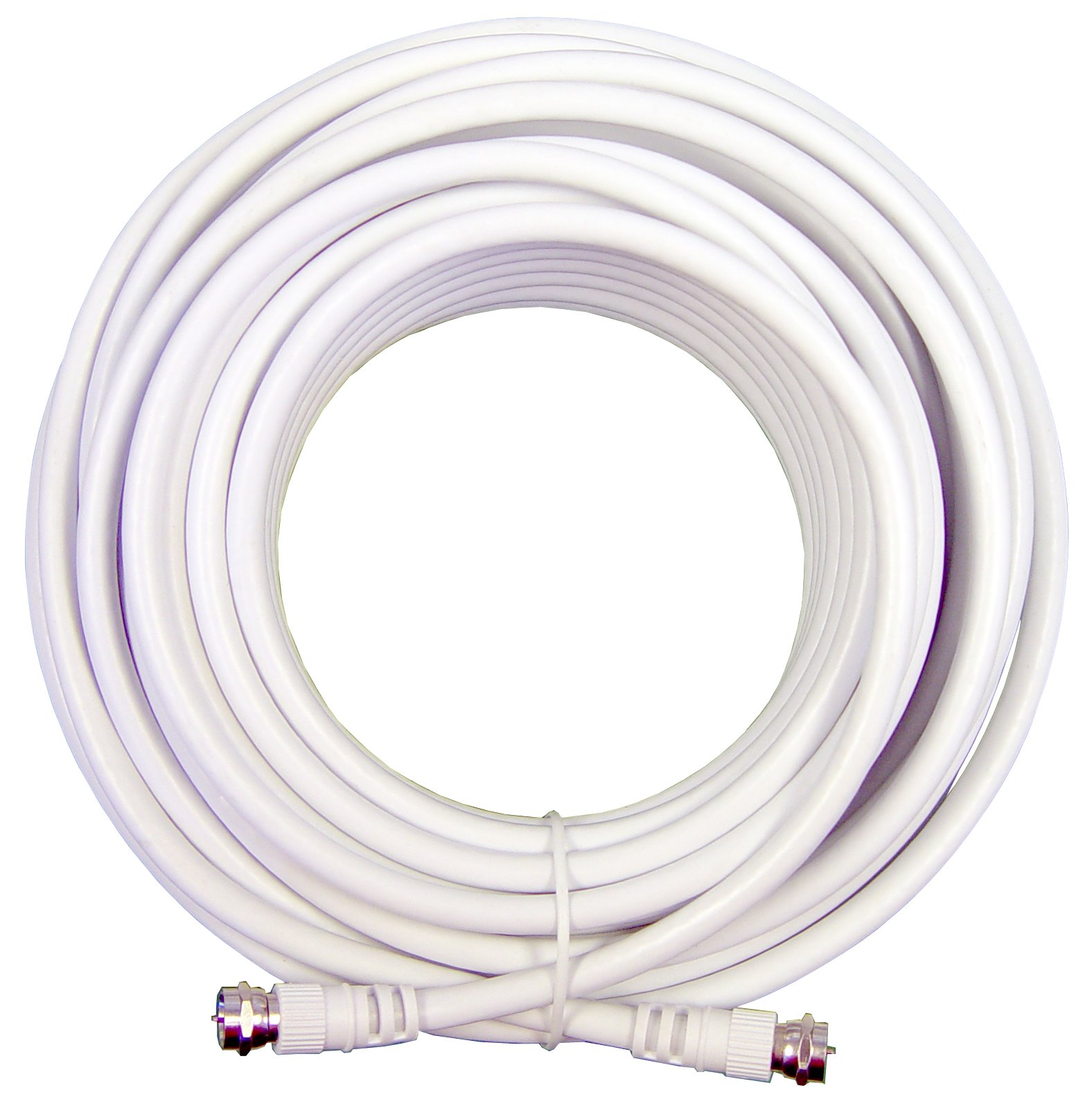 Wilson Electronics 20 ft. White RG6 Low Loss Coax Cable (F-Male to F-Male) by weBoost