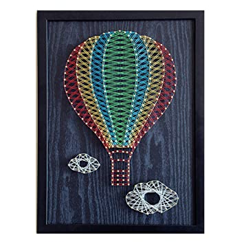 Thread Art Painting