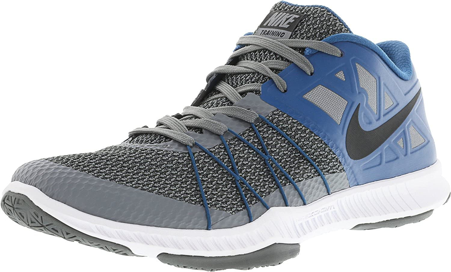 Discount Nike Zoom Train Incredibly Fast Size 5 Cool Grey