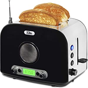 Maxi-Matic ERT-6067 Long Cool Touch 4-Slice Toaster Extra Wide 1.25