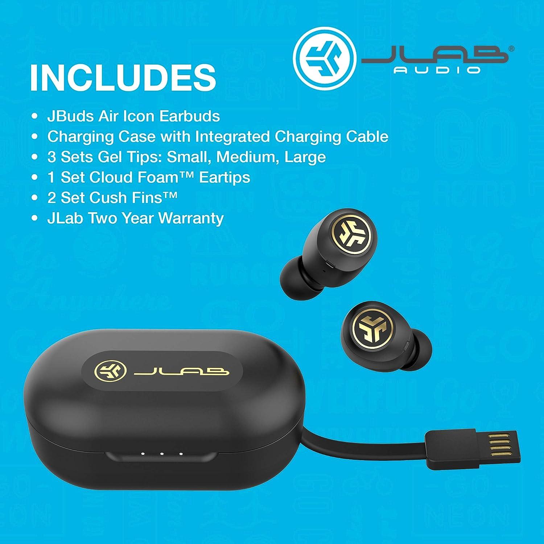Jlab Jbuds Air Icon True Wireless Black Elektronik