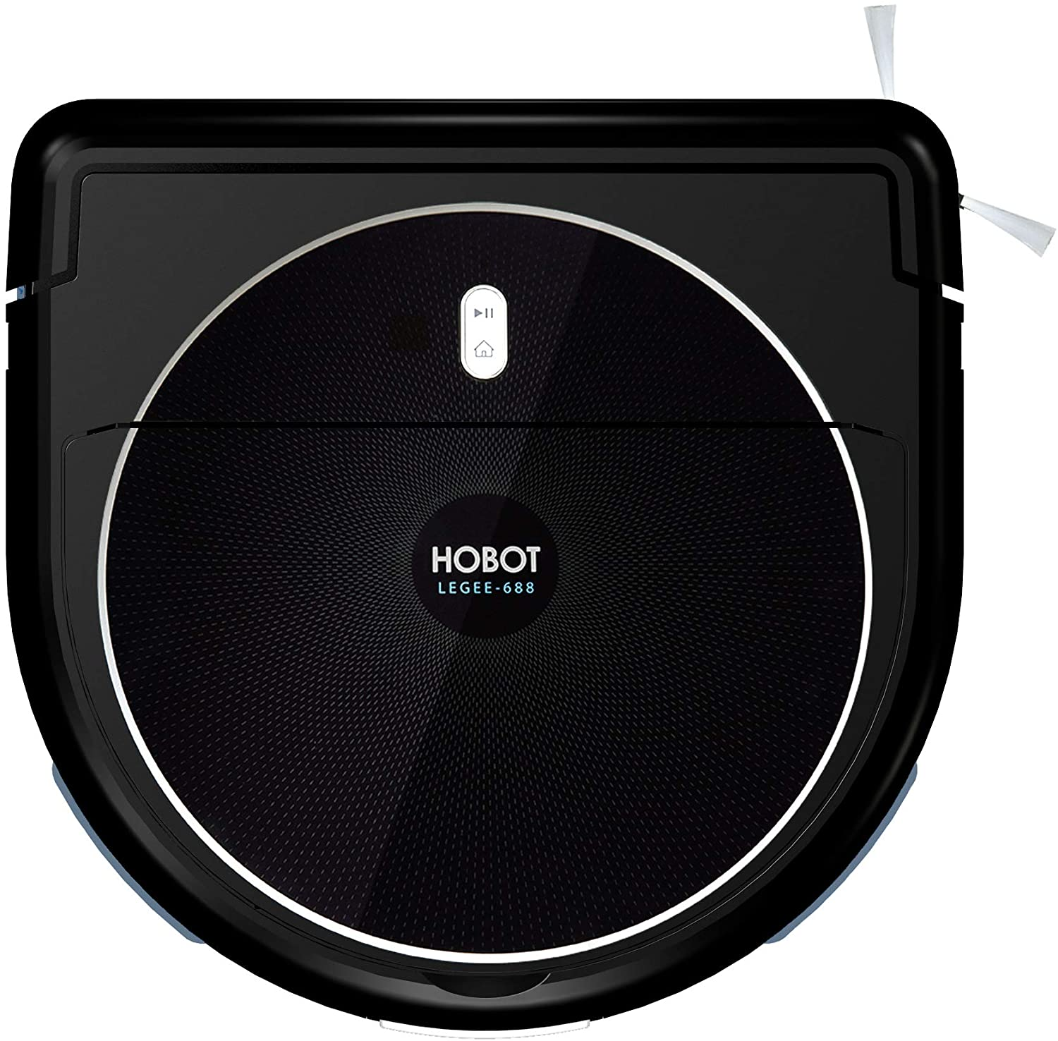 HOBOT LEGEE-688 Vacuum-Mop Talent Clean Robot for Floor, Automatic Robot for Wet or Dry Floor Cleaning - Kitchen Pet Mode - Realtime Map in APP