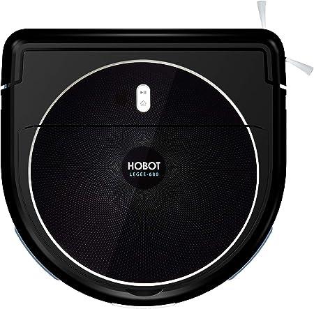 Hoobot LEGEE 688-Robots - Aspirador y limpiadores con Sistema de fricción para una Limpieza eficaz: Amazon.es: Hogar