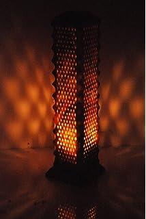 Amazon.com: Moroccan Lamps & Sconces Handmade Leather Henna Lamp ...