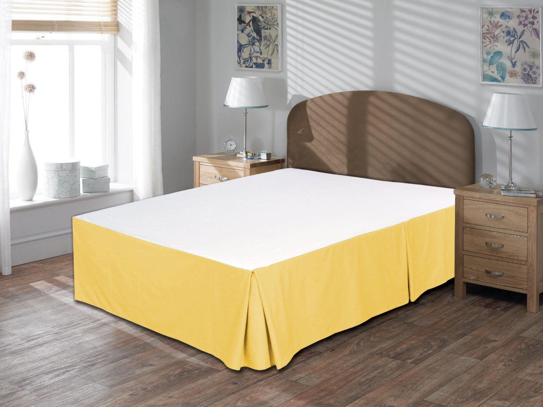 taupe Confort phalanges 600tc 1/Cache-sommier 40,6/cm Longueur Euro roi IKEA Taille 100/% coton /égyptien massif Euro King/IKEA