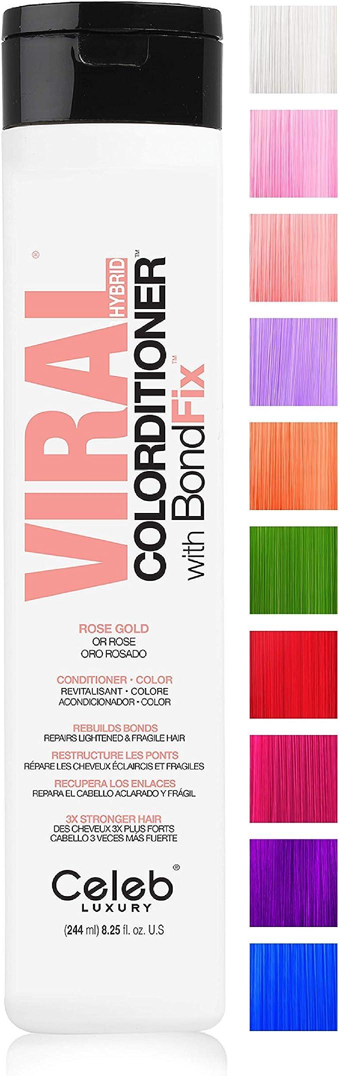 CELEB LUXURY VIRAL HYBRID COLORDITIONER ROSE ...