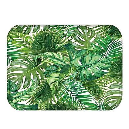 amazon com chiced 1pcs 4060cm tropical cactus monstera patternimage unavailable