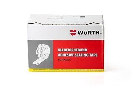6 rollos Würth Eurasol cinta de Fijación Banda tensora inferior de un lado 60mm x 25m