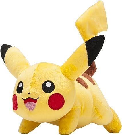 Amazon Com Pokemon Center Original Running 8 Inch Pikachu Plush Doll Toys Games